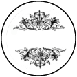 Printable Blank Spice Labels Ornate (Tops)